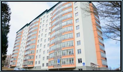Многоквартирный жилой дом по ул. Полевая, в г. Минске