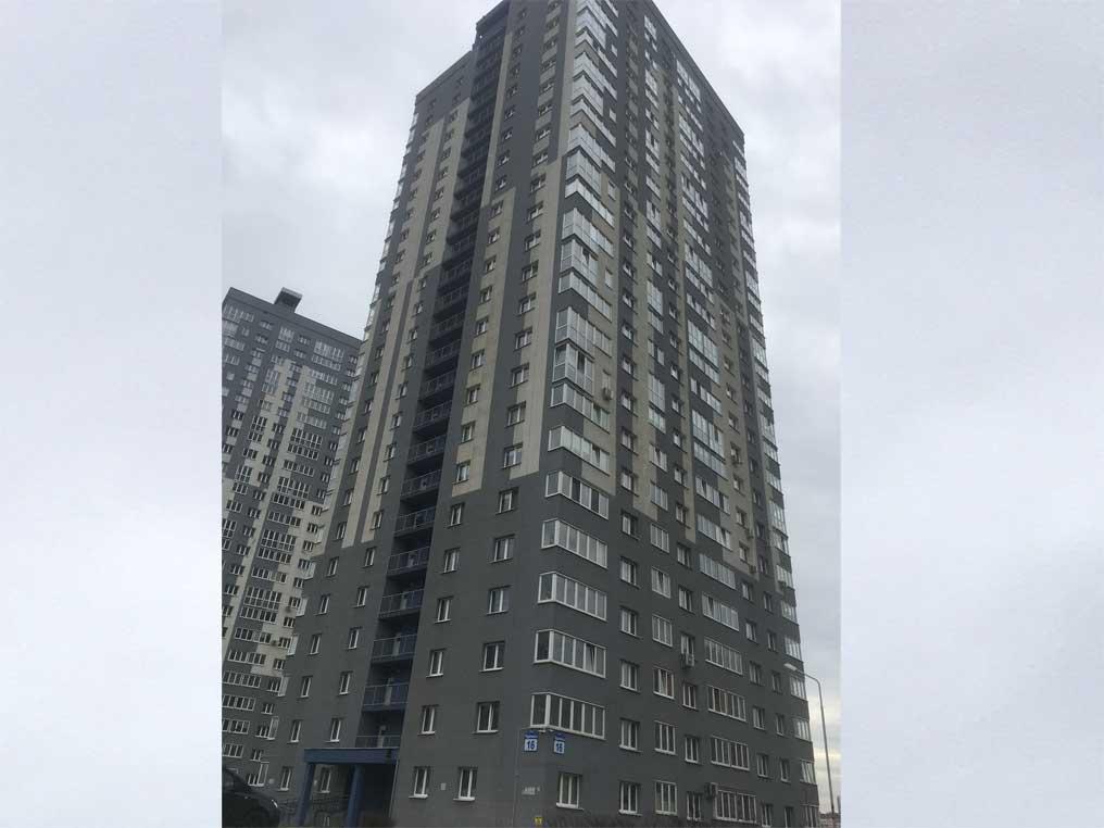 Многоквартирный жилой дом по ул. Чюрлениса, г. Минск