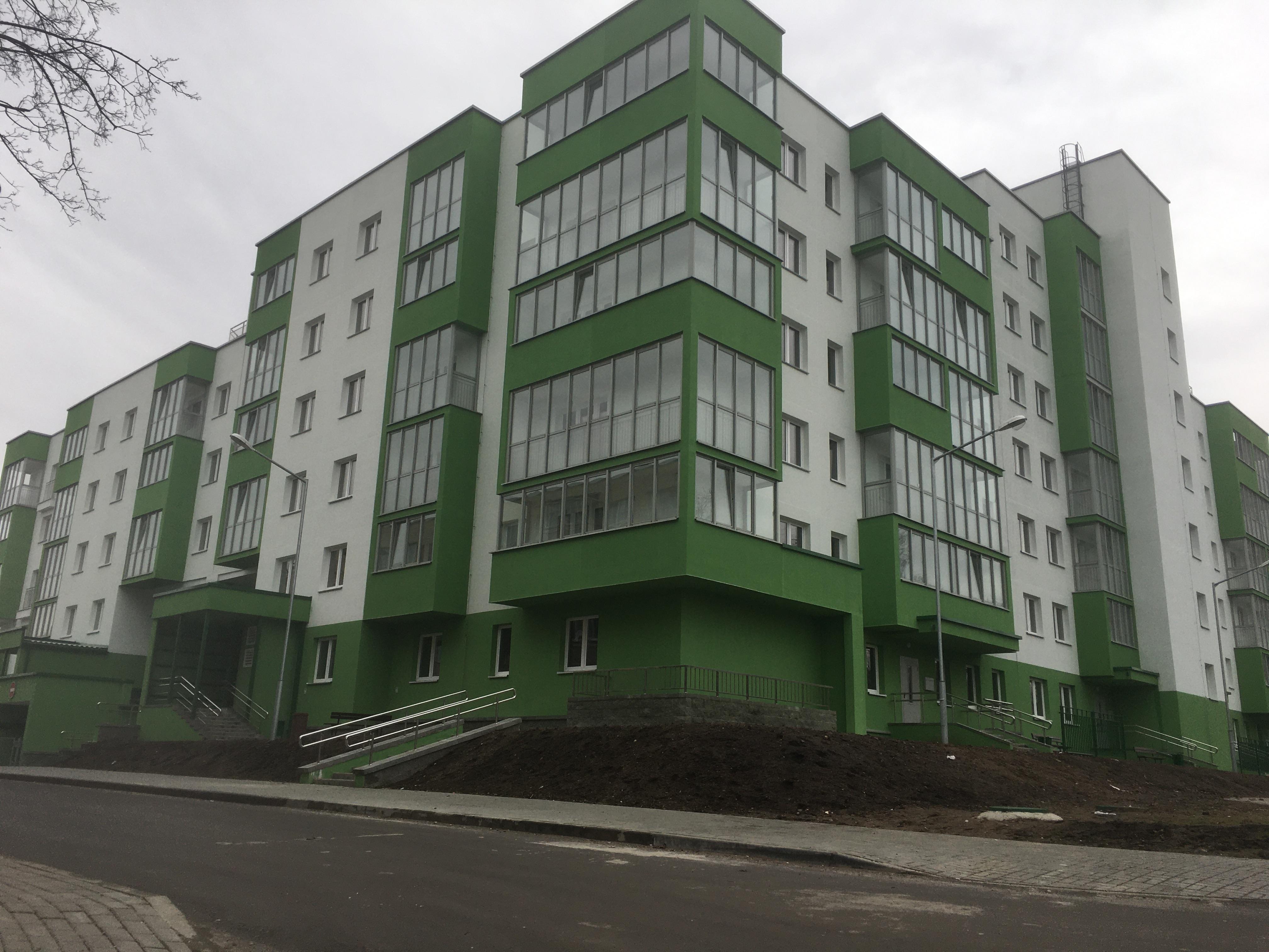 Многоквартирный жилой дом по ул. Полиграфическая, г. Минск