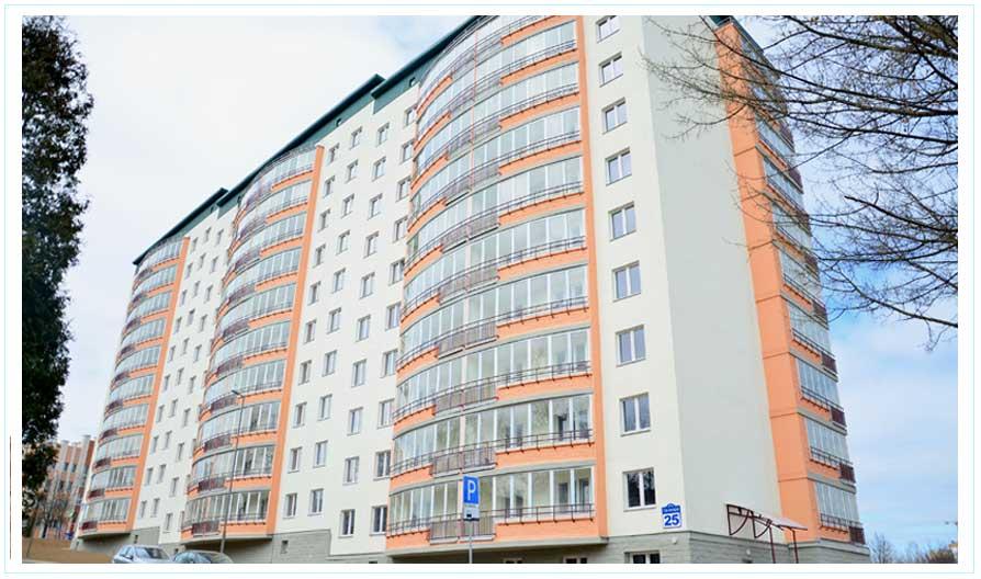 Объекты: Многоквартирный жилой дом по ул. Полевая, в г. Минске